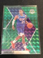 2019-20 Panini Mosaic #198 BUDDY HIELD  Green Sac Kings