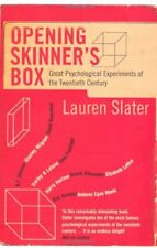 Opening Skinner's Box: Great Psychological Experiments of the Twentieth Centur,