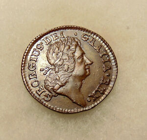 1723 Wood's Hibernia Half Penny - Choice Looking Coin - FREE SHIPPING & INS