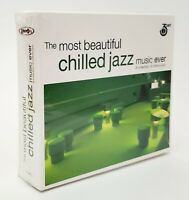 Most Beautiful Chilled Jazz Rare CD 3 Disc Set Various Artists Brand New Sealed!