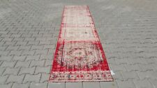 turkish runner,3x11 ft,Turkish Rug,Anatolian Rug,Bohemian,Vintage rug,Oushak Rug
