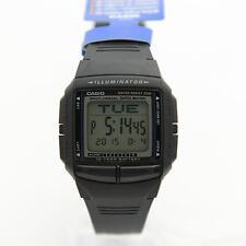 Casio DB-36-1A Black Resin Digital Databank Stopwatch Watch DB-36-1 DB36