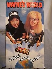 """Vintage VHS Video Tape - Mike Myers and Dana Carvey in """"Wayne's World""""  1992"""