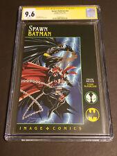 Spawn-Batman #NN CGC 9.6 SS Stan Lee White Pages 1994 Image DC