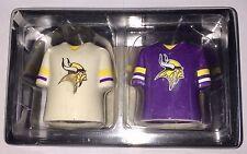 Minnesota Vikings NFL Shirt Jersey Salt & Pepper Pots Shaker Set