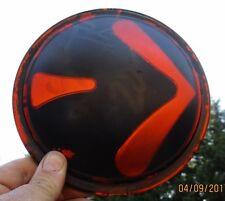 "Vintage Amber Orange 6.5 "" Turn Signal Lens Truck Bus Keystone Type S.M.H."