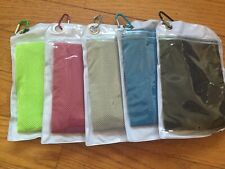 New 5 Piece Cooling Sport Towel Keep Cool Gym Fitness Running Fast Ship From NY