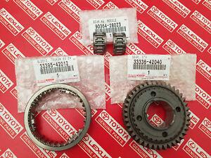 Toyota Rav4 Manual OEM Genuine 5th Gear Repair Kit 40 Teeth 3PC KIT 33336-42040