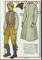 Costume Parish in Dalarna Vintage Swedish Paper Doll Valleys Sweden and Norway