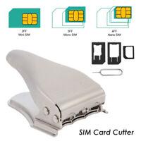 3 in 1 Nano Mini Micro SIM Card Cutter Mobile Phone Manual Metal Modify Tools AU