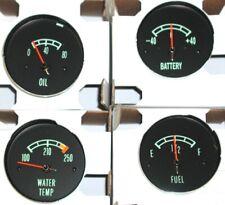 1966-1967 Corvette C2 Gas, Water Temp, Amp & 80 Pound Oil Pressure Gauges