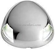 LED White Navigation Light Stainless Steel Case Bow 225 degrees  20m NAVSEA225