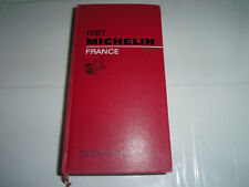 LIVRE  GUIDE MICHELIN 1987