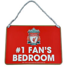 Liverpool Fc Bedroom Sign No1 Fan Door Wall Signage Childrens Room
