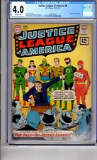 Justice League America #8 CGC 4.0 OWP 'JLA..FOR SALE'..Letter from Roy Thomas!