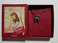 American Girl Hallmark BENNETT (Molly's Favorite Animal) Charm for Bracelet NEW