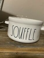 Rae Dunn SOUFFLE Baking Dish Bowl with Handle By Magenta New RARE