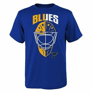 Outerstuff NHL Youth Boys (4-20) St. Louis Blues Mask Made Tee