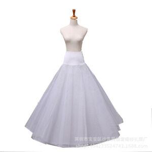 Plus Size 1hoop A-line Wedding Dress Bridal Petticoat Crinoline Underskirt