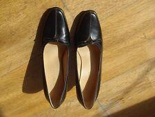 Femme Aerosoles Noir Talons Chaussures en cuir 7 M Classique Style Élégant