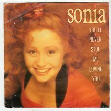 (HG321) Sonia, You'll Never Stop Me Loving You - 1989 - 7 inch vinyl