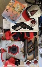 Vintage Lazer Tag 1986 Instructions, Guns, Belts, Sensors, Hat (See Decription)