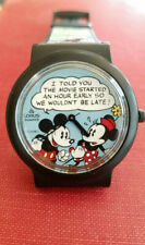 The Mickey Mouse and Minnie Mouse Comic Strip watch by LORUS