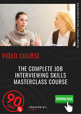 The Complete Job Interviewing Skills Masterclass Course video training tutorial