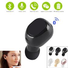 Mini Bluetooth Earpiece Earbud Wireless Headphones Invisible Bluetooth Headset