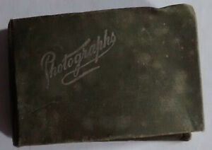 antique  Small FAMILY PORTRAIT ALBUM   Victorian/Edwardian