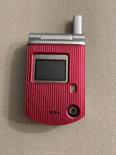 Vintage 2006 Pantech C300 Miniature Flip Phone Cell Phone Cingular Dead Battery