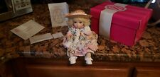 Marie Osmond Tiny Tot Doll - Daisy with hat C59144 100% complete Coa & box