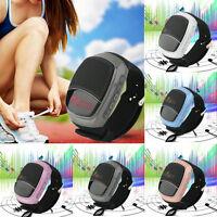 B90 Creative Bluetooth Speaker Sport Running Cycling Music Wrist Watch LOT FT