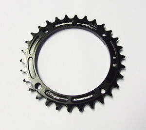 Race Face Narrow Wide Single Chainring - 104mm - Black