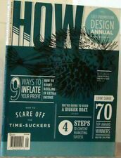 HOW Magazine SELF-PROMOTION DESIGN Annual 9 WAYS T0 INFLATE Your PROFITS $11