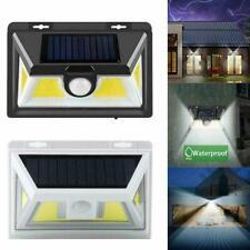COB LED Solar Light Motion Sensor Security Wall Garden Lamp Pathways High V3R7