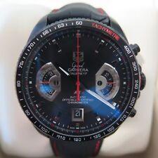 Tag Heuer Grand Carrera Calibre 17 RS2 CAV518B Black Auto Chronograph Full Set