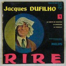 Jacques Dufilho 45 tours Volume 1