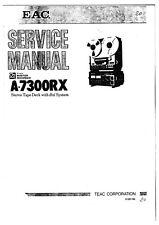 Service Manual-Anleitung für Teac A-7300 RX