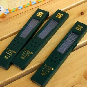 10 pcs/box 2B HB 2.0mm Mechanical Pencil Lead Refill D4A4 Student Writing K5G4