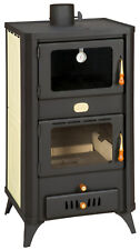Wood Burning Stove Oven Cooker Fireplace Log Burner Boiler 23kw Prity FG W18R
