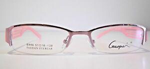 Ladies Designer Glasses Frame for prescription Lens eyeglasses eyewear pink