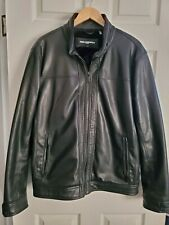 Karl Lagerfield Faux Leather Jacket