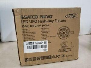 Nuvo Lighting 65/184 9.44 Inch 150W 5000K 1 LED Hi-Bay Light  Black Finish