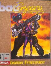 Bad Company (Logotron, 1989) Commodore Amiga (box, Manual, disc)