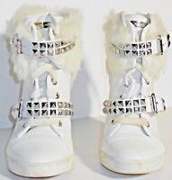 Michael Kors Women's White Boots Size 5 1/2M