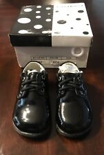 Toddler Boys Tuxedo Shoes - Black, Size 4