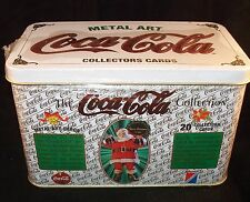 1994 The Coca-Cola Collection Metal Art Complete Trading Card Set SEALED