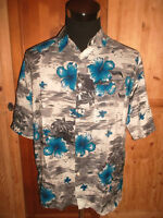 vintage MAURO GESANDRO Hawaii Hemd oldschool shirt 90s hawaiihemd L