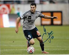 Marseille Andre Pierre Gignac Autographed Signed 8x10 Photo COA F